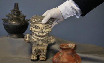 ASV atgriež Peru 1800 gadu senus artefaktus