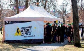ZZ Čempionātā arī elektrodrošības stafete