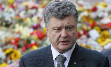 Porošenko pateicas Latvijai par pastāvīgu atbalstu Ukrainas neatkarībai
