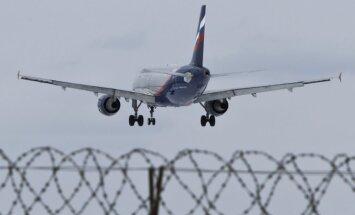 Ukraina aizliedz Krievijas aviokompāniju lidojumus savā teritorijā