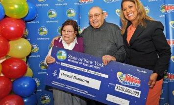 80 gadus vecs Ņujorkas pensionārs loterijā laimē 326 miljonus dolāru