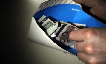 Ēnu ekonomika Latvijā samazinājusies par procentpunktu