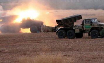 Sīrijas drošības spēki ar Krievijas uzlidojumu atbalstu uzbrukuši stratēģiski svarīgam apgabalam