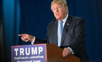 Tramps aicina uz laiku aizliegt musulmaņu iebraukšanu ASV
