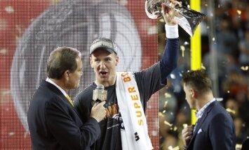 50. 'Super Bowl' izcīņā triumfē Denveras 'Broncos'