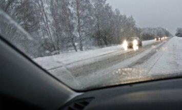 Atjaunota satiksme autoceļā Annenieki-Jaunpils