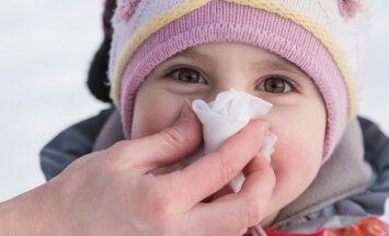 Kā bērnam pareizi izšņaukt degunu