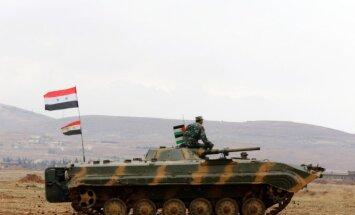Sīrijas armija atkaro 'Daesh' pilsētu pie ceļa uz Alepo