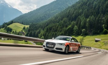 Rekorda braucienā 'Audi A6' vidējais patēriņš – 3,7 litri uz 100 km
