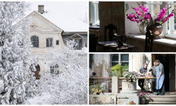 ФОТО: Будущая жемчужина на карте латвийского туризма — поместье Абгунсте