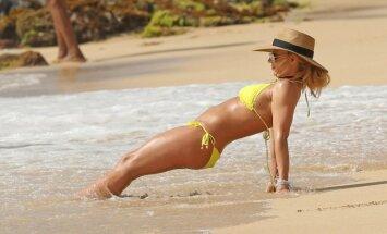 Foto: 36 gadus vecā Spīrsa Havaju salās izrāda satriecošo ķermeni