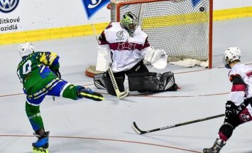 Latvijas rollerhokejisti zaudē cīņā par ceļazīmi uz IIHF pasaules čempionāta augstāko divīziju