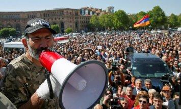 Лидера армянской оппозиции выдвинули на пост премьера