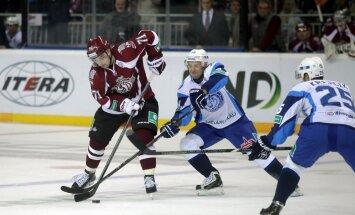 Rīgas 'Dinamo' lieliski spēlē vairākumā un pārtrauc zaudējumu sēriju