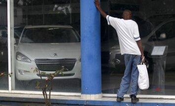 Kubiešus šokē Havannas tirgū ienākušo importa spēkratu cenas