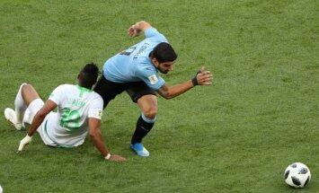 Pasaules kausa spēle: Urugvaja – Saūda Arābija. Teksta tiešraide