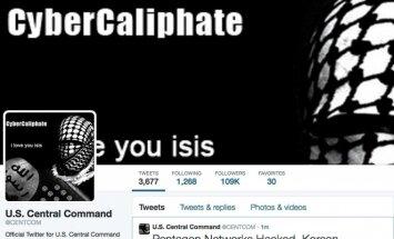 Teroristi uzlauzuši ASV Centrālās pavēlniecības 'Twitter' kontu
