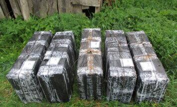 Robežsargi Daugavpils novadā izņēmuši 90 tūkstošus kontrabandas cigarešu