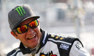 Video: 'World RX' čempions Peters Solbergs par gaidāmajām sacensībām Biķerniekos