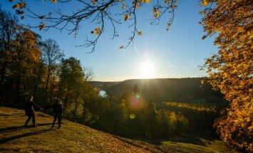 Jaunnedēļ Latvijā gaidāma zelta rudens kulminācija