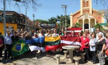 Baltiešu vienotība starp palmām: kā tālajā Brazīlijā svinēja Baltijas ceļu