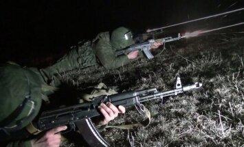 Krievija pie Ukrainas robežām sāk militārās mācības