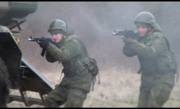 Video: Ukrainas tuvumā vingrinās speciālo spēku vienības