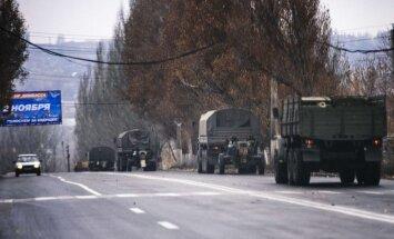 NATO: Ukrainas austrumos tiek ievests Krievijas bruņojums un karavīri