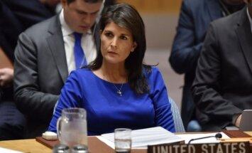 ASV noteiks Krievijai jaunas sankcijas Sīrijas dēļ, paziņo Heilija