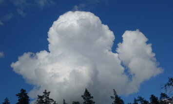 В пятницу ожидается частичная облачность, местами дожди