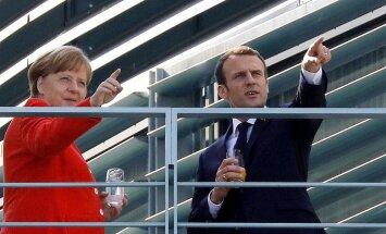 Francija un Vācija sola divu mēnešu laikā izstrādāt eirozonas reformu plānu