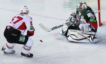 Dārziņa 'Ak Bars' dramatiskā cīņā izstājas no KHL Gagarina kausa