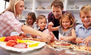 Bērnam nepieciešamais vecāku uzmanības un dārgā laika ikdienas minimums