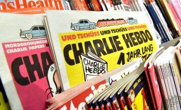 Charlie Hebdo опубликовал карикатуру на выборы в России— с Собчак и Навальным