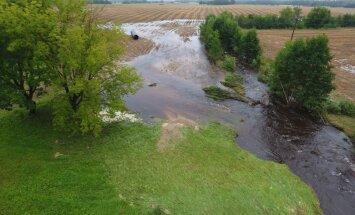Izsludināt ārkārtas stāvokli saistībā ar plūdiem varētu lūgt arī Kārsavas un Ludzas novada domes