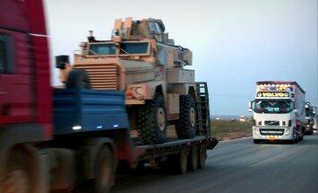 Arī Trampa administrācija sūtīs kurdiem ieročus