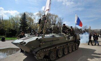 Kaujas Ukrainā nerimst: separātisti no 'Grad' apšaudījuši vairākas apdzīvotas vietas, arī Debaļcevi