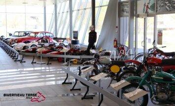 Pirmo reizi Muzeju naktī būs atvērts Biķernieku trases muzejs
