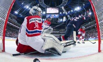 ASV hokejisti liedz mājiniecei Čehijai tikt pie bronzas medaļām