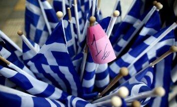 Vācija izstrādājusi plānu Grieķijas pagaidu aiziešanai no eiro zonas
