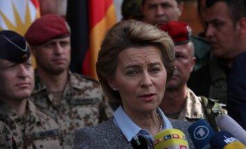 Vācija paplašinās militāro atbalstu Irākai