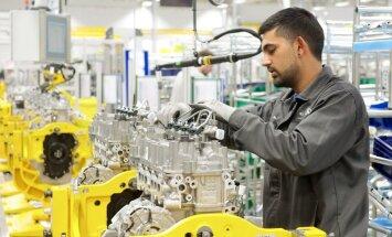 No 'Jaguar Land Rover' rūpnīcas nozagti motori 3,5 miljonu eiro vērtībā