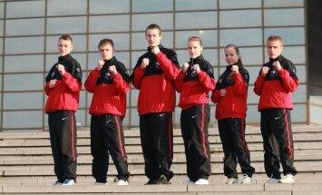 Латвийская каратистка— победительница юниорского первенства Европы