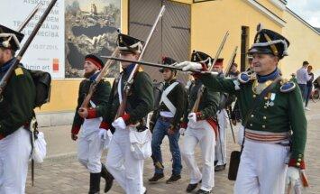 Pa Daugavpils ielām atkal maršēs franču un krievu kareivji