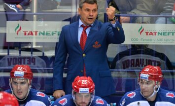CSKA hokejisti KHL čempionāta cīņās izcīna jau astoto uzvaru pēc kārtas