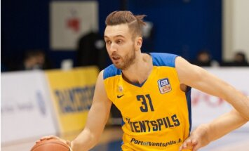 'Ventspils' basketbolisti Kurzemes derbijā pieveic 'Liepāja'/'Triobet'