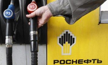 Krievija apsver iespējas daļēji privatizēt 'Rosņeftj', lai palielinātu budžeta ieņēmumus