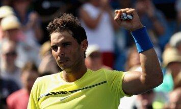 Рейтинг ATP: Надаль снова первый, у Гулбиса скачок на 11 позиций