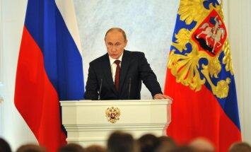 Putins izdod likumu par obligātiem narkotiku testiem pusaudžiem