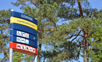 В первом полугодии число туристов в Юрмале возросло на 21%